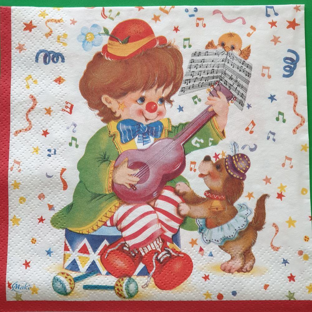 Χαρτοπετσέτα με παιδικό σχέδιο 16,5*16,5